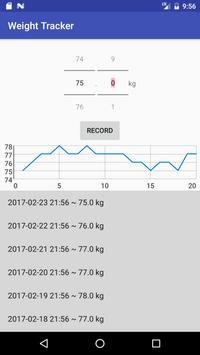 Weight Tracker poster
