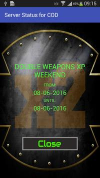 Double XP Weekend for COD screenshot 1
