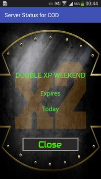 Double XP Weekend for COD screenshot 2