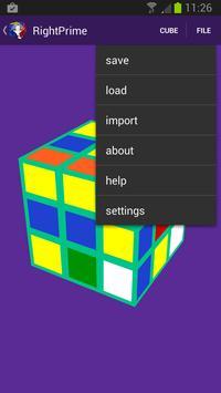 Rubik's Cube Solver screenshot 3