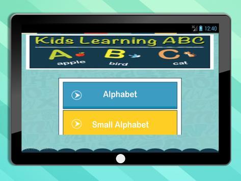 ABC Kids Alphabet screenshot 6
