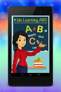 ABC Kids Alphabet poster