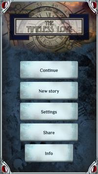 The Timeless Love. Interactive story apk screenshot