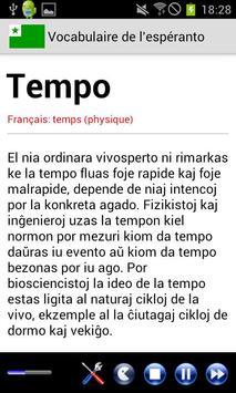 Vocabulaire Espéranto poster