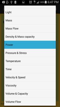 Omni Unit Converter screenshot 3