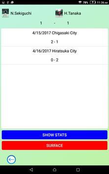 Tennis Score & Card apk screenshot