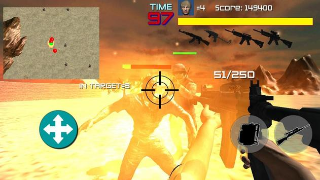 FPS Shooter Game HELL MISSION screenshot 1