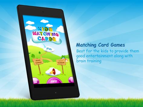 Memory Matching Cards Game poster