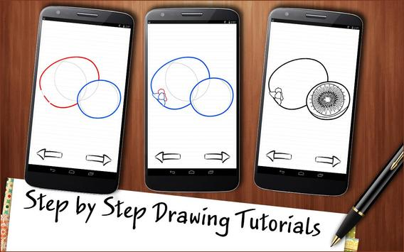 Drawing App Fruits and Berries Cocktail poster