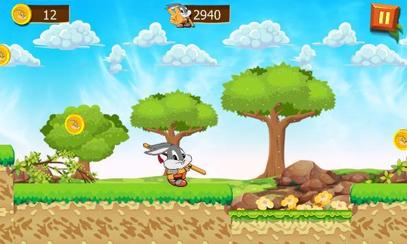 Super Rabbit Bunny moba screenshot 1