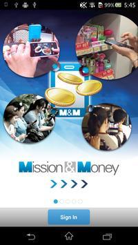Mission & Money poster