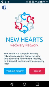 New Hearts Recovery Network poster