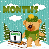 Kids Months Flashcards icon