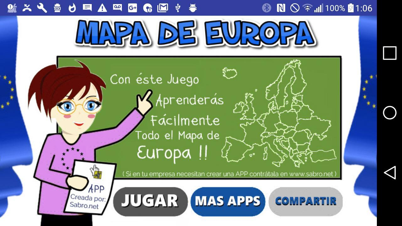 Mapa De Europa Juegos.Juego Del Mapa De Europa Para Android Apk Baixar