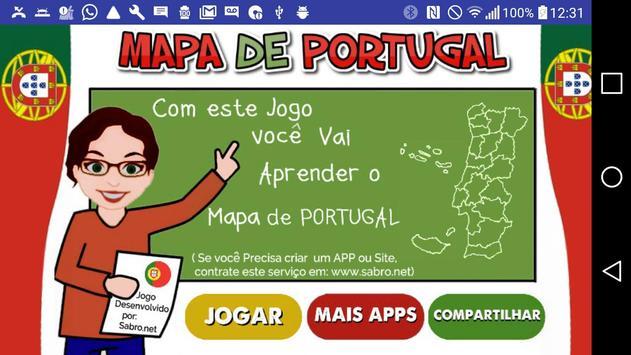 mapa de portugal para android Jogo Mapa de Portugal APK Download   Free Educational GAME for  mapa de portugal para android
