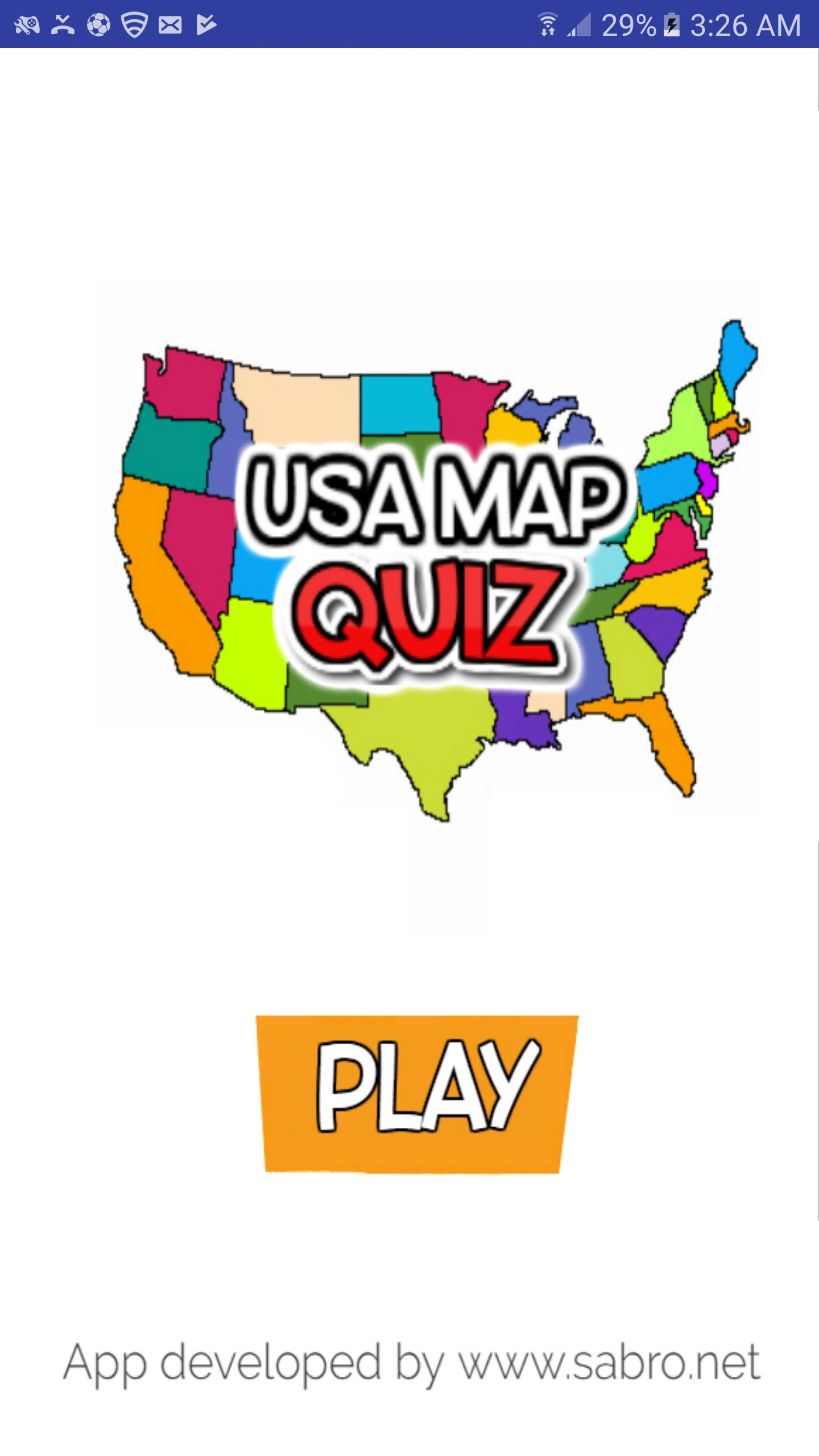 USA MAP QUIZ Guess The US State Game for Android - APK Download