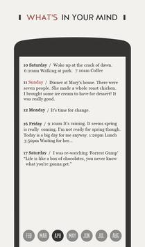 DayGram - One line a day Diary screenshot 2