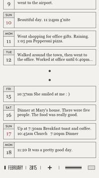 DayGram - One line a day Diary screenshot 4