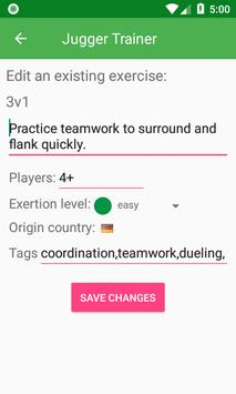 Jugger Trainer screenshot 2