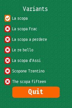 Net.Scopa HD apk screenshot