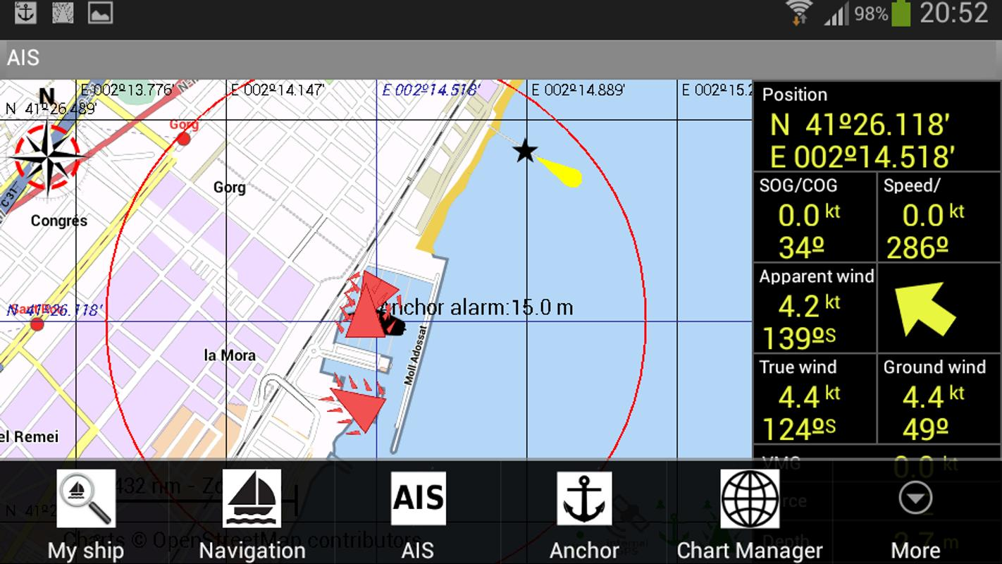 Free Marine Gps Apps For Android  釣りナビくん for Android - APK