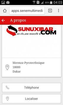 Sunuxibar screenshot 2