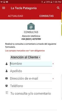 Revista La Tecla Patagonia screenshot 3