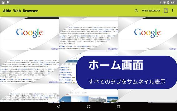 Aida Web Browser poster
