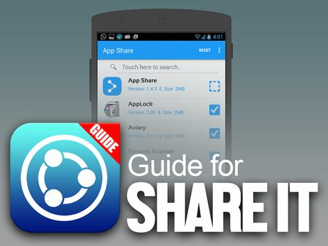 Guide for SHAREit poster