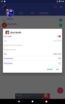 Flosho(Floating Shortcuts Launcher) screenshot 16