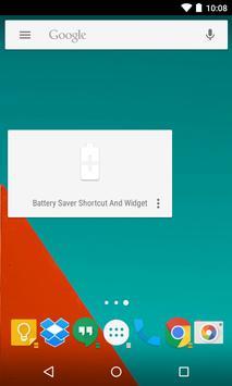 Battery Saver Shortcut +Widget imagem de tela 1