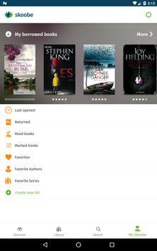 Skoobe - The best books in your ebook library apk screenshot
