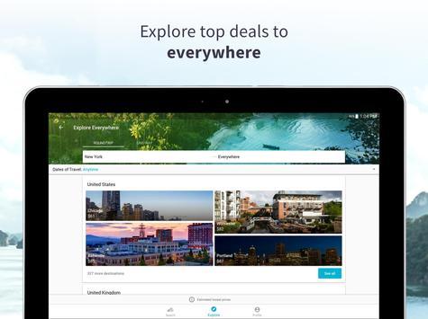 Skyscanner - Cheap Flights, Hotels and Car Rental apk screenshot