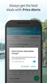 Skyscanner- Flights, Hotels, Trains and Car Hire apk screenshot