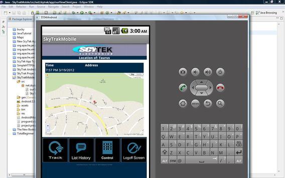 ScyTek SkyTrak Mobilink screenshot 1