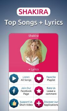 Shakira - Songs & Lyrics poster