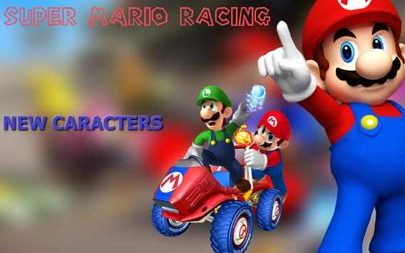 Super Mario Racing screenshot 1