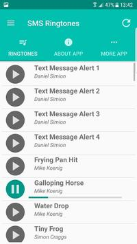 SMS Ringtones screenshot 1