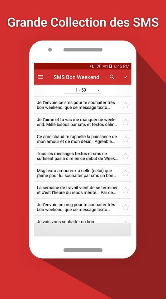 Sms Bon Weekend For Android Apk Download