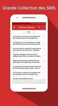 SMS Bon Weekend screenshot 1