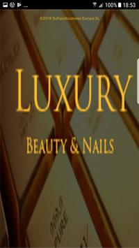 LUXURY BEAUTY & NAILS poster