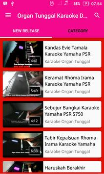 Single Organs Karaoke Dangdut screenshot 1