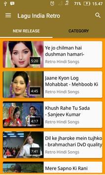 Retro Hindi Songs screenshot 1