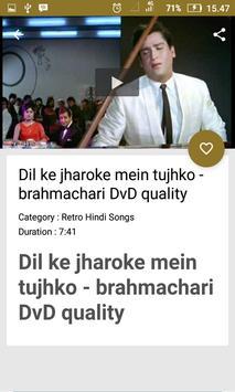 Retro Hindi Songs screenshot 2