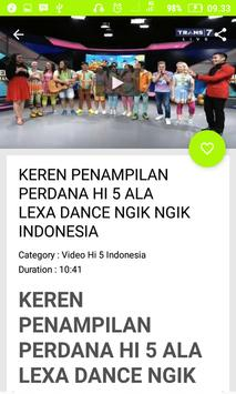 Video Hi 5 Terbaru Indonesia screenshot 2