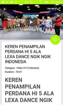 Video Hi 5 Terbaru Indonesia screenshot 8