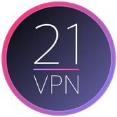 21VPN icon