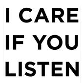 I CARE IF YOU LISTEN Magazine icon