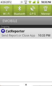 CatReporter apk screenshot