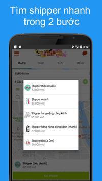 ShipVN - Tìm shipper, săn ship, giao hàng, đồ ăn apk screenshot